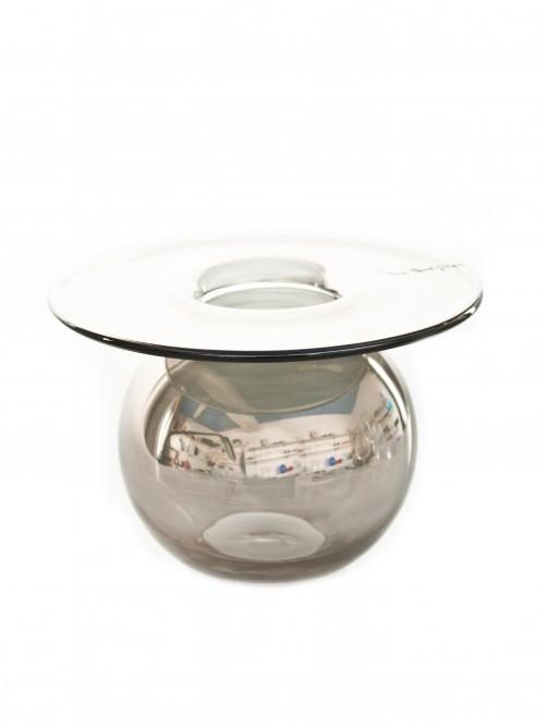 211022 Vase sølv lyster